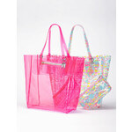 Victoria's Secret Vinyl Tote Bag