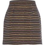 RI Bronzová mini sukně s nýtky