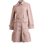 AFTERSHOCK Luxusní béžový kabát