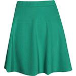 B O O H O O Smaragdová sukně Roseanna