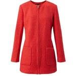 ELISE RYAN Červený kabátek