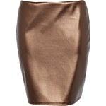 BOOHOO Bronzová sukně Carly
