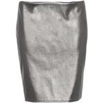 BOOHOO Stříbrná sukně Carly