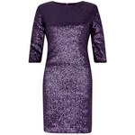 ELISE RYAN Večerní fialové šaty