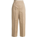 Valentino High-Waisted-Culottes in cotton