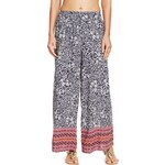 Marks and Spencer M&S Collection Bali Floral Wide Leg Beach Trousers