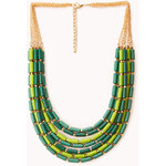FOREVER21 Down to Earth Beaded Necklace