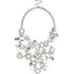 Stříbrný náhrdelník s drahokamy