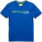 HEAVY TOOLS Tričko Heavy Tools Kamfor blue