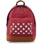 Vínový batoh s hvězdami Mi-Pac Stars