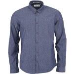 Tmavě modrá vzorovaná košile !Solid Gretton