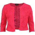 Růžové krajkové sáčko AX Paris Crochet