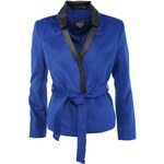 Modrý kabátek Silvian Heach Sukamoto
