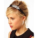 ASOS Bejewelled Headband & Earring Pack