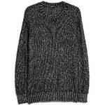 MANGO Melierter, flauschiger Pullover