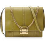 Valentino Close Up Leather Shoulder Bag with Studs