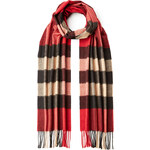 Burberry Shoes & Accessories Fringed Cashmere Scarf