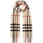 Burberry Shoes & Accessories Cashmere Giant Icon Check Scarf