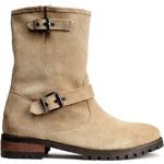H&M Veloursleder-Boots