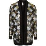 Topshop Sequin Embellished Cardigan