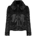 Topshop PETITE Faux Fur Collar Bomber Jacket