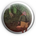 Croissart Červená Karkulka Placka 56mm Green