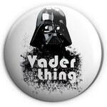 Croissart Vader thing Placka 56mm White