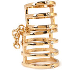 FOREVER21 On The Edge Caged Ring