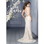 krajkové ivory svatební šaty Rosabella S