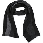 s.Oliver Long, striped knitted scarf