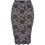TFNC Tělová krajková sukně v midi délce