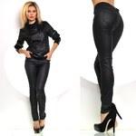 Fashion Trendy lesklé kalhoty (XS)