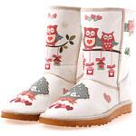 Dámské boty Elite Goby se sovičkami