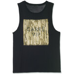 """Tally Weijl Black """"Carre VIP"""" Top with Embellishment"""