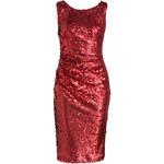 Phase Eight Kleid ANGELE mit Pailettenbesatz rot