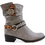 Ctogo-gogo Podzimní kotníkové boty 8856-9BE Velikost: 36 + LEGÍNY ZDARMA!