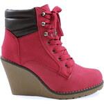 SISICODE Kotníčkové boty na klínku 67288R