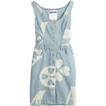 Moschino Printed Stretch denim Dress