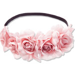 Tally Weijl Pink Floral Detail Head Band