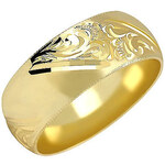 Brilio Zlatý snubní prsten 222 001 00083 48 mm