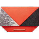 Roland Mouret Leather Kite Clutch