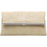 Diane von Furstenberg Leather Envelope Clutch