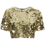 Topshop Sequin Sweat