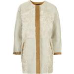 Topshop Faux Fur Patchwork Jacket