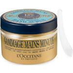 LOccitane En Provence Peeling na ruce s 15% bambuckého oleje (Gommage Mains Hand Scrub) 100 ml