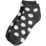 Lindex Kotníkové ponožky s puntíky