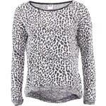 Černo-bílý leopardí svetr Vero Moda Vena