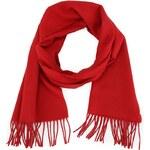 Červená vlněná šála Fraas