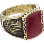 Hyde Block Ring - Gold