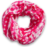 Esprit snood with a polka dot pattern